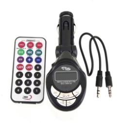 4in1 Car Mp3 Player Wireless Fm Transmitter Modulator USB Sd