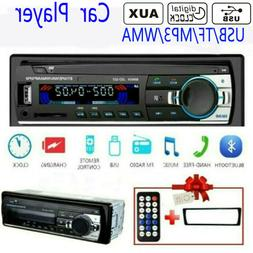 Car Radio Mp3 Player USB SD AUX-IN Remote Control Digital Bl