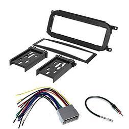 CAR Radio Stereo CD Player Dash Install MOUNTING Trim Bezel