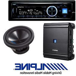 Alpine Car Stereo CD/USB Receiver w/Advanced Bluetooth W/Alp