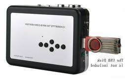 Cassette Player, USB Cassette-to-MP3 iPod CD Converter Captu