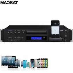 Tascam CD-200iL Rackmount CD Player with iPhone/iPod Cradle