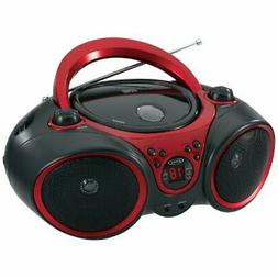 Jensen Cd-490 Portable Stereo Cd Player With Am/fm Stereo Ra