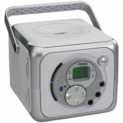 JENSEN CD-555A Portable Bluetooth Music System with CD Playe