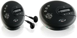 CD Disk Player Portable with Bass Boost Anti-Skip Protection