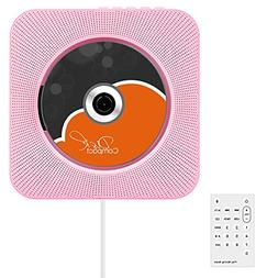 CD Player, VIFLYKOO Wall Mountable CD Player Bluetooth Hi-Fi