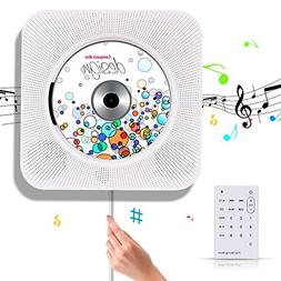 Portable CD Player - Korjo CD Music Player with Bluetooth &