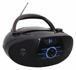 CD Player,Blue,AC Power Source
