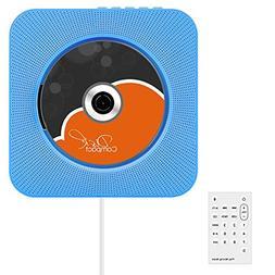 CD Player, VIFLYKOO Upgrade Version Wall Mountable CD Player