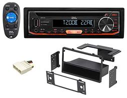 JVC CD Player Receiver USB/AUX/MP3 3-Band Eq+Remote For 1996