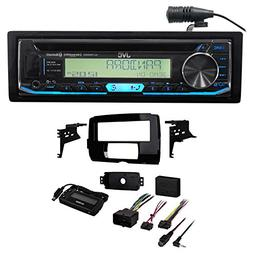 JVC CD Player Receiver w/Bluetooth+Install Kit for 2014-2018