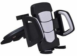 CD Player Slot Car Mount Padded Phone Holder for iPhone/Smar