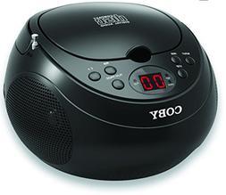 Coby CD Portable Boom Box with AM/FM Radio