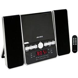 Craig 3-Pieces CD Shelf System with Dual Alarm Clock AM/FM S