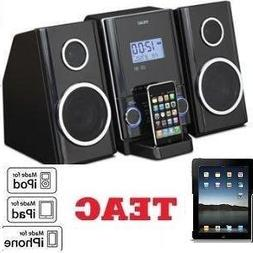 THE NEW TEAC CD-X70i --- MINI Hi-Fi SYSTEM w/IPOD/IPHONE DOC