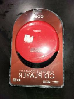 Coby CD190 Portable Compact CD Player Super Bass with Earpho