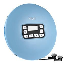 HOTT CD611 Portable CD Player With LED Display, Anti-Skip Pr