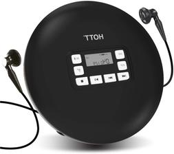 Hott Cd611T Bluetooth Portable Cd Player For Home Travel And