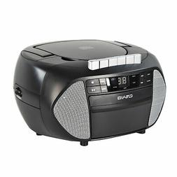 Craig CD6951-SL CD Boombox with AM/FM Radio and Cassette Pla