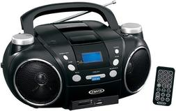 Jensen CD750 Portable AM/FM Stereo CD Player with MP3 Encode