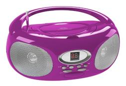 Riptunes CDB220P Portable Music CD Boombox Player, AM/FM Rad
