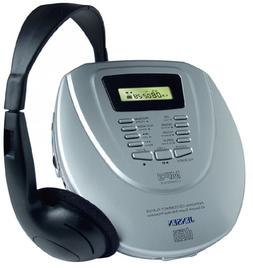 Jensen CDMP-345 MP3-Compatible Portable CD Player