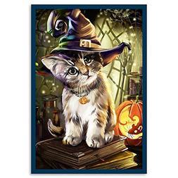 856store Clearance Sale Lovely Halloween Cat 5D Diamond Pain