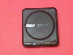 Sony Corporation Sony Discman D-12 Sony Compact Disc Player