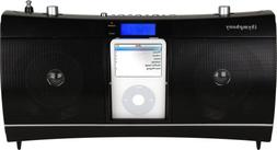 iSymphony CR1 Portable Clock Radio Music System with Built-i