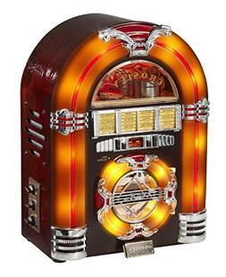 Crosley CR11CD Jukebox CD Player with Authentic Neon Lightin