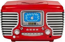 Crosley CR612D-RE Corsair Retro AM/FM Dual Alarm Clock Radio