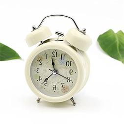 "Mynse 4"" Creative Idyllic and Modern Style Small Table Clock"