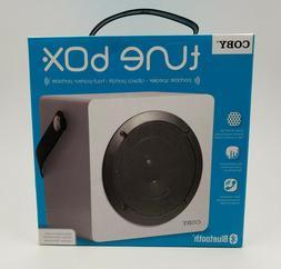 Coby CSBT-317-WHT Tune Box Portable Bluetooth Speaker