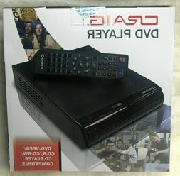 Craig CVD512A Compact DVD Player w/ Remote DVD/DVD-R/DVD-RW/