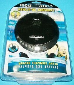 Coby CX-CD109 CD Player - LCD - Black