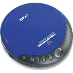 Coby CXCD109BLU Personal CD Player with Stereo Headphones, B