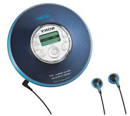 Sony D-NF420PS   MP3/ATRAC3 Psyc CD Walkman with AM/FM Tuner