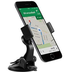 APPS2Car UniversalSpring Lock Cellphone Suction Mount with