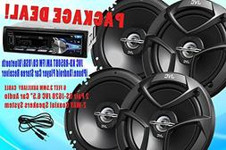 "Package Deal ! 2 Pair JVC CS-J620 6.5"" Car Audio 2-WAY Coaxi"