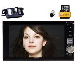 Eincar Double 2Din Car Audio Stereo Head Unit GPS Navigation