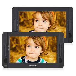 "NAVISKAUTO 10.1"" Dual Screen DVD Player Ultra-thin Car Backs"