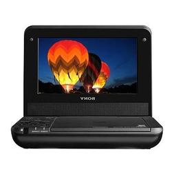 "SONY DVP-FX750 7"" Black Portable DVD Player"