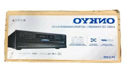 ONKYO DX-C390 6-Disc CD Changer 5Hz-20KHZ Black
