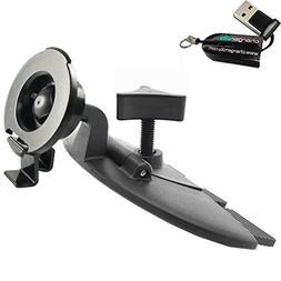 ChargerCity EasyBlade Car CD Slot Mount for Garmin Drive Dri