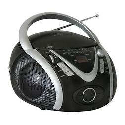 NAXA Electronics NPB-246 Portable MP3/CD Player with AM/FM S