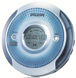 Philips EXP2561 Portable MP3-CD Player with top Mount L
