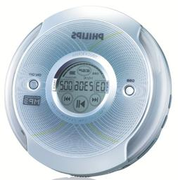 Philips EXP2581 Portable MP3-CD Player