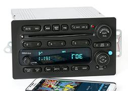 GMC Chevy Truck 03-05 Radio AM FM 6 Disc CD Upgraded w Bluet