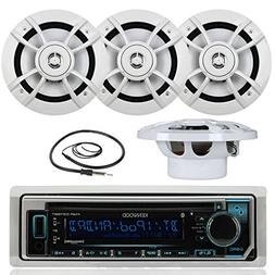 Great New Kenwood Marine Boat Yacht Outdoor Bluetooth Stereo