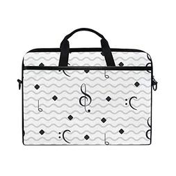 Guru Music ImageHandbag Laptop Briefcase, Multi-Functional S